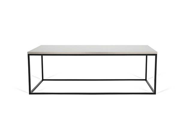 FOREST Coffee table long Steel