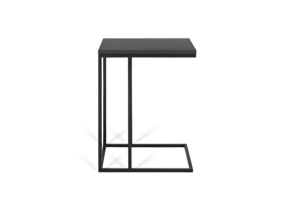 FOREST Sofa side table Black-oak