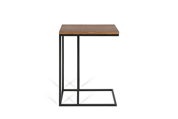 FOREST Sofa side table Chocolate