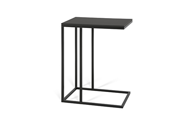 FOREST Sofa side table Black-fenix