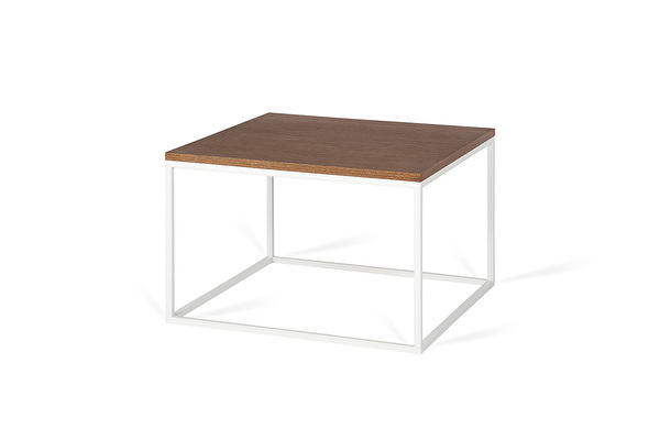 FOREST White Coffee Square table Chocolate