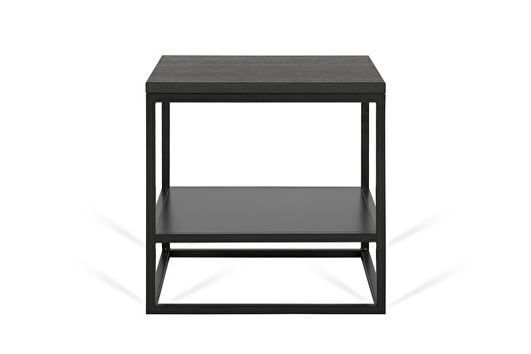 FOREST DUO Side table Black-oak