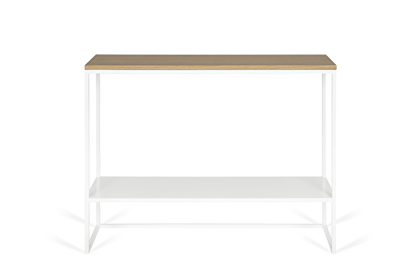 FOREST DUO White console Oak