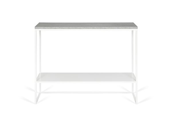 FOREST DUO White console Concrete