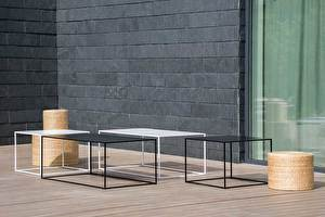 SILENCE Outdoor Coffee table Long