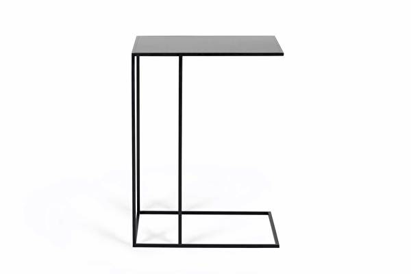 SILENCE Outdoor Sofa Side table Black