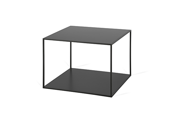 SILENCE DUO Coffee table Black