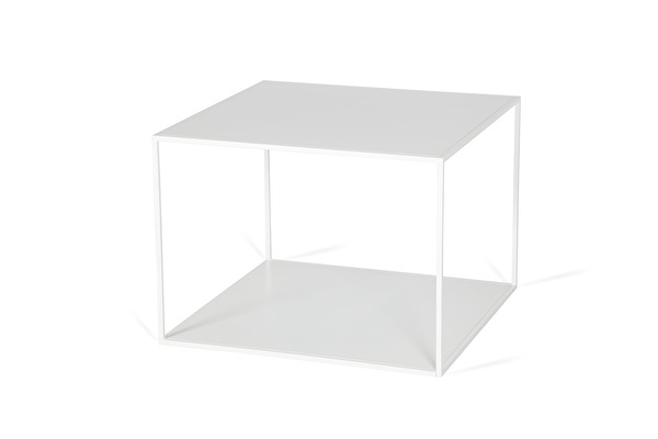 SILENCE DUO Coffee table White