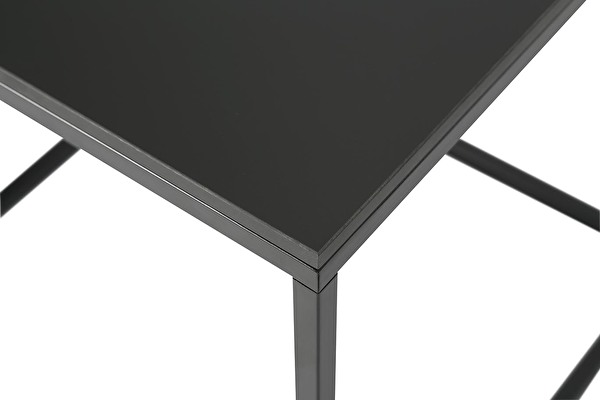 FOREST Side nesting table Black-fenix