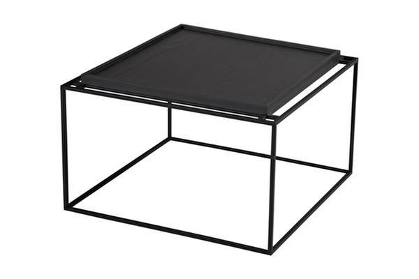 TRAY Kavos staliukas Juodas