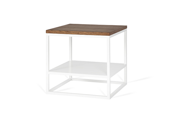 FOREST DUO White side table Chocolate