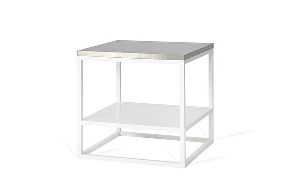 FOREST DUO White side table Steel