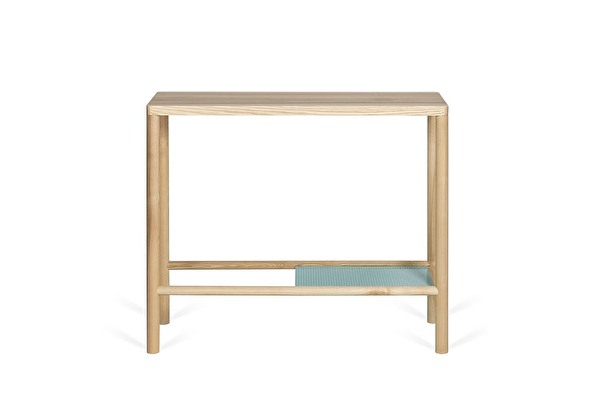 MILL Console Ash-frame-mint-shelf
