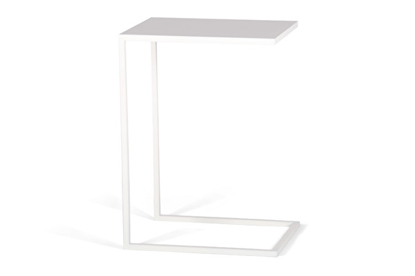 SILUET Sofa Side table White