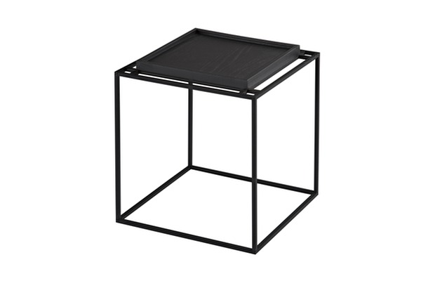 TRAY Side table Black