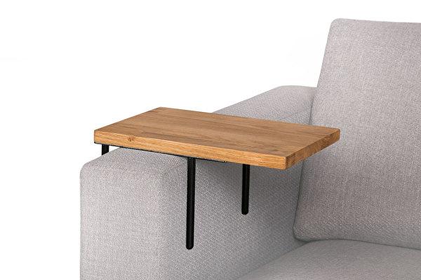 HELPER Sofa Beistelltisch Eiche