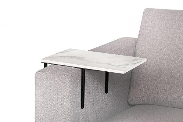 HELPER staliukas ant sofos Balto-marmuro-imitacijos-stalvirsis