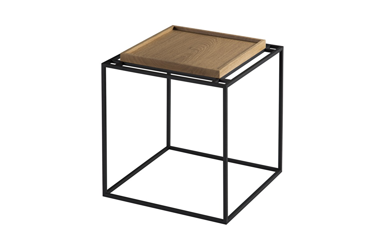 Captivating Tray Side Table