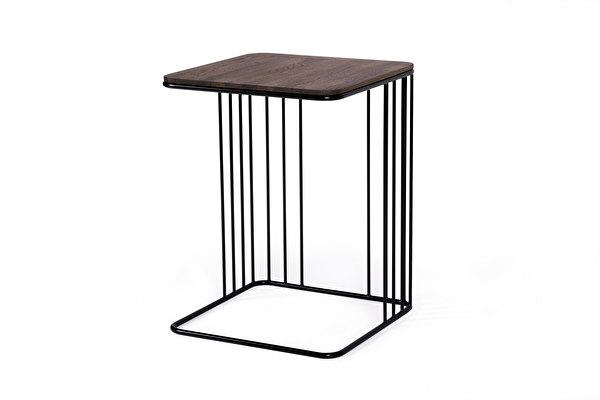ELEGANS staliukas prie sofos Tamsus-azuolas