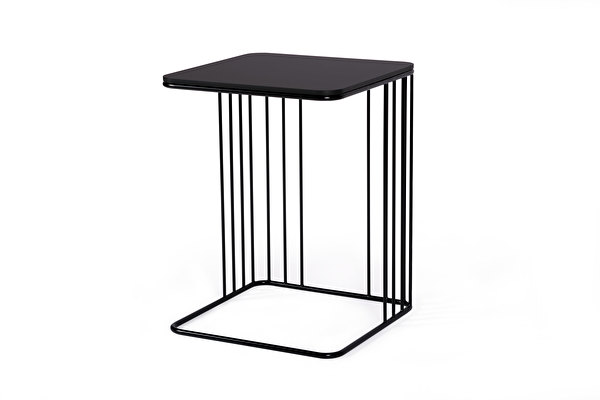 ELEGANS Sofa Side table Black-fenix