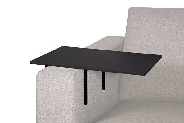 HELPER Sofa Side table Large Black-fenix