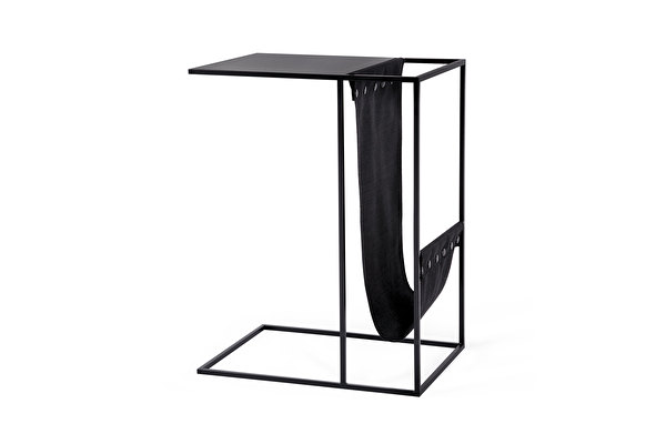 SILENCE Sofa Side Magazine table Black