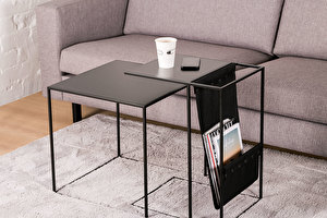 SILENCE Sofa Side Magazine table