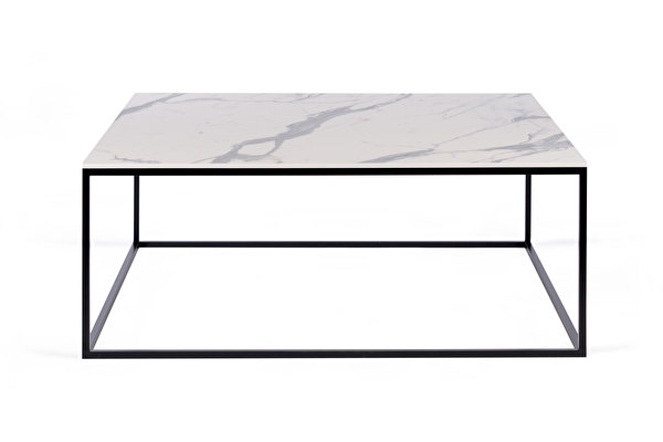 FOREST Coffee Square 100 White-marblelook-tabletop