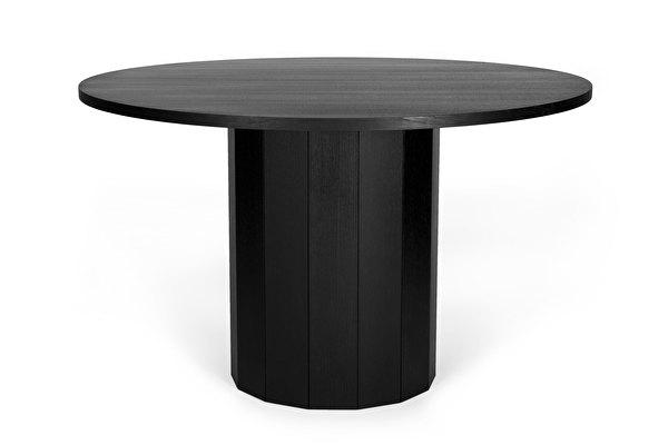 REVOLVE Dining table Black-oak