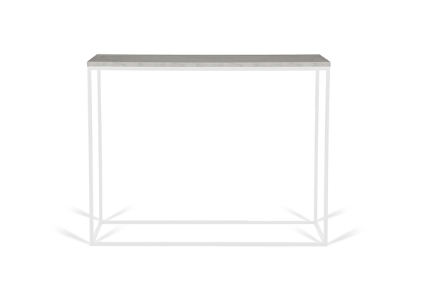 FOREST White Console Concrete