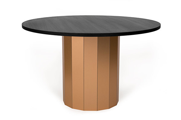 REVOLVE Dining table Copper