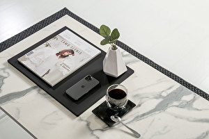FOREST White coffee table long