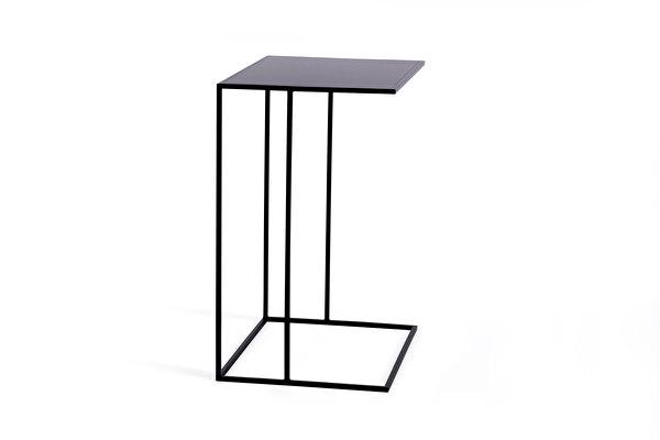 SILENCE Sofa Side Wide table Black