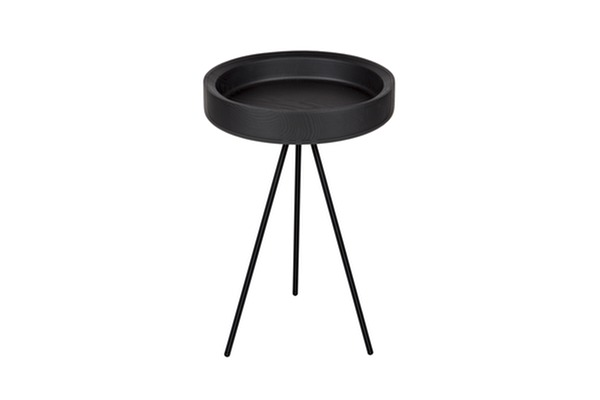HYGGE Side table Tall Black