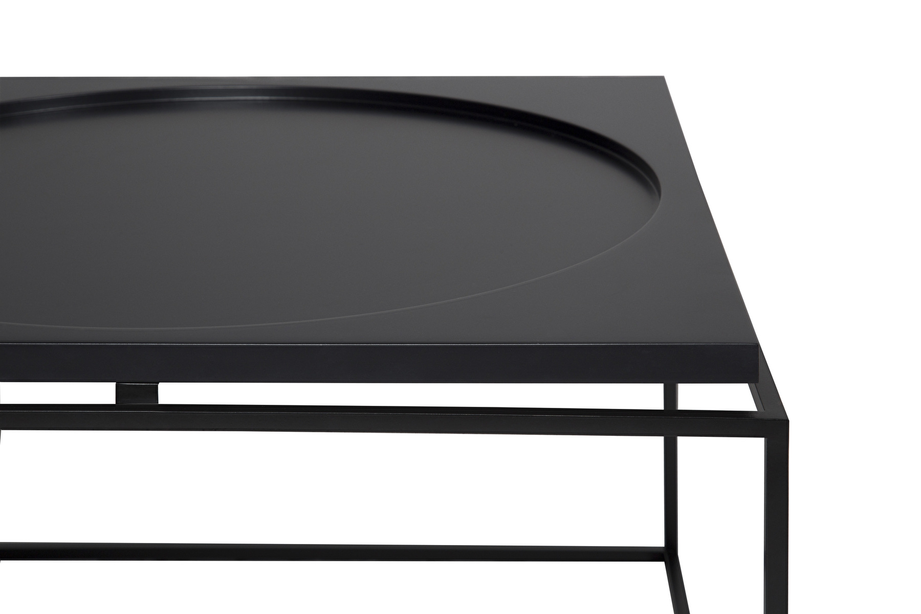 Coffee table Circle in Square ELENSEN Home Design