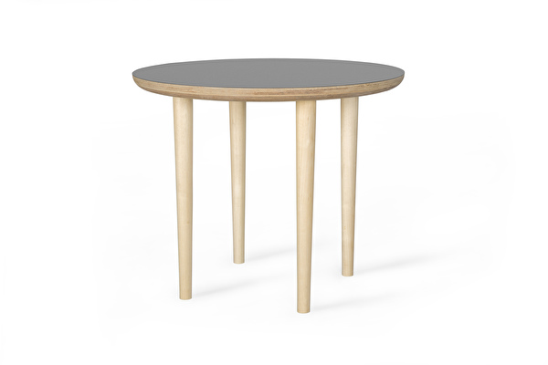 SHADOW Coffee table Round Grey