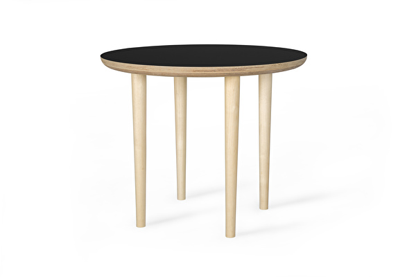 SHADOW Coffee table Round Black