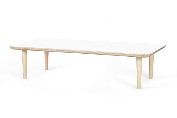 SHADOW Coffee table long White