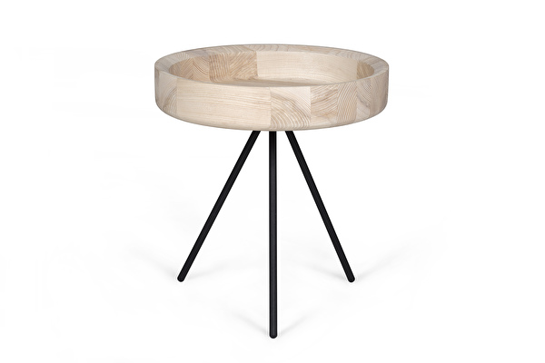 HYGGE Side table Short Ash