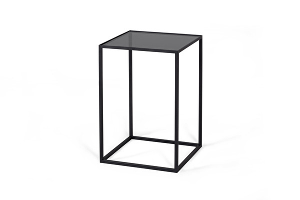 GLASSGOW Side table Black