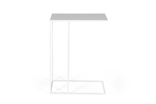 SILENCE Sofa Side table White