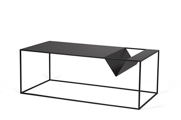 SILENCE Coffee Magazine table Black