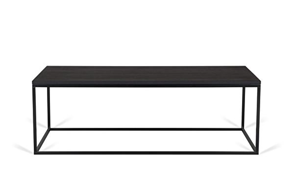 FOREST Coffee table long Black-oak