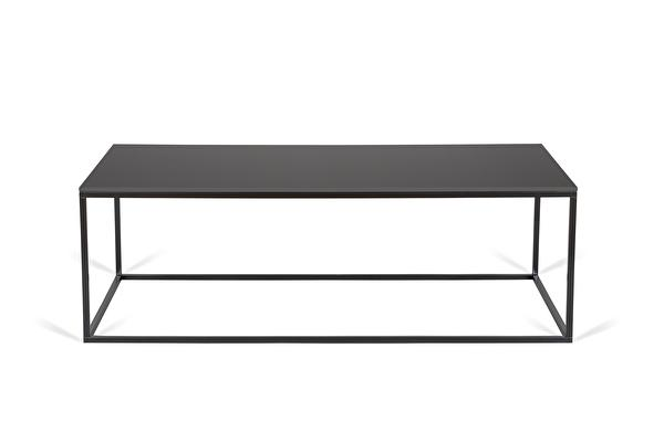 FOREST Coffee table long Black-fenix