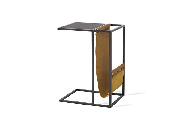 AVEI Sofa Side table Leather