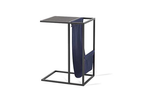AVEI Sofa Side table Blue-wooly